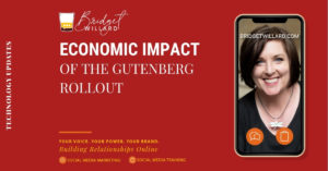 featured image for the economic impact of the gutenberg rollout