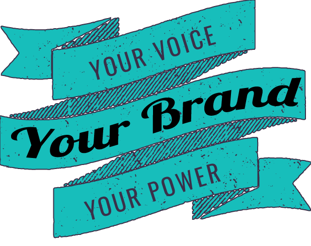 Banner, your voice, your power, your brand