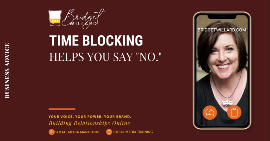 featured image for time blocking