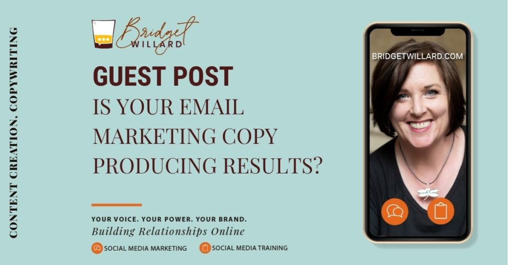featured image for guest post about email marketing copy