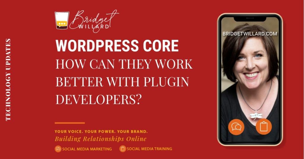 featured image for tech dev wordpress core and plugin development