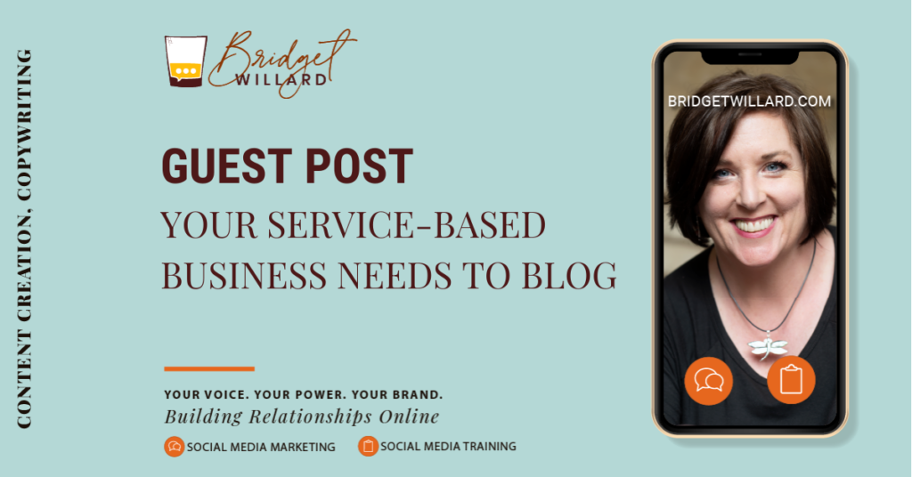 featured image for why service-based businesses should blog