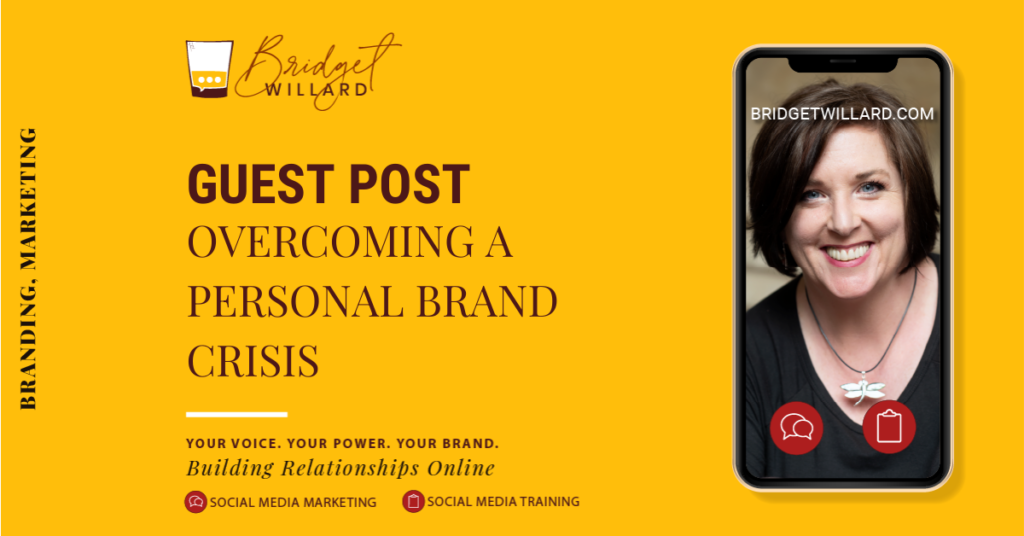 featured image for how to overcome a personal brand crisis and bounce back