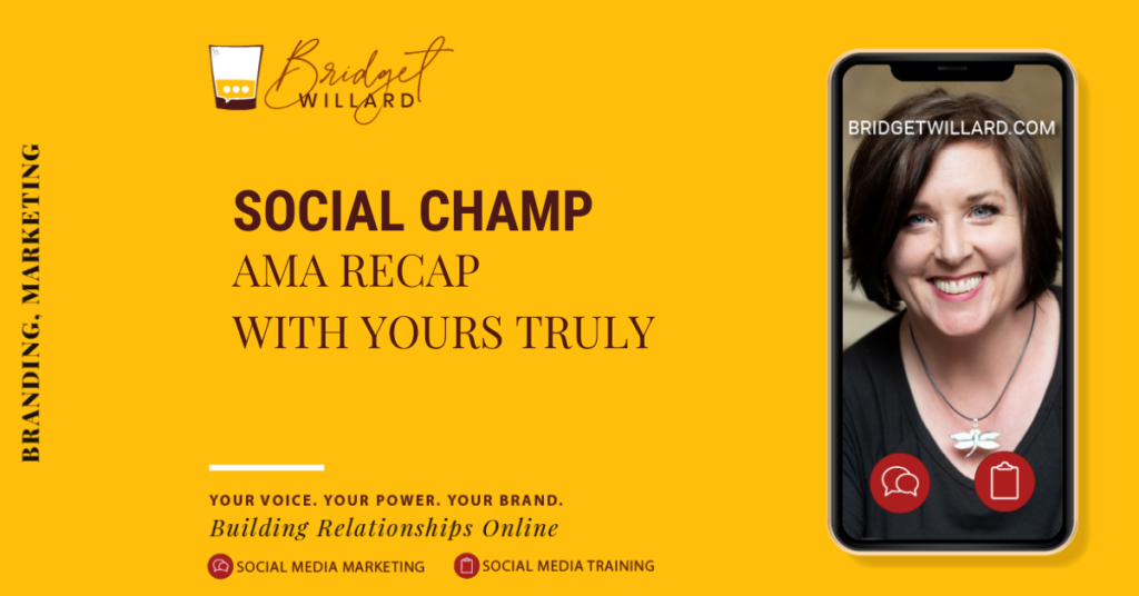 featured image for AMA Social Champ post